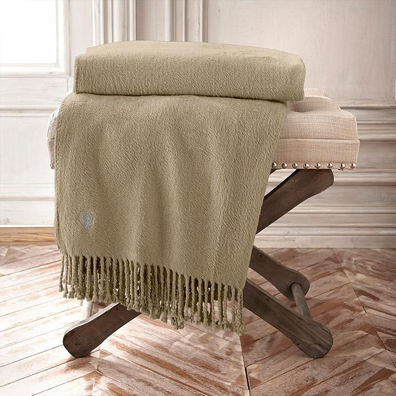 Throws Waterford Connemara Wheat Silk Throw Latest Bedding