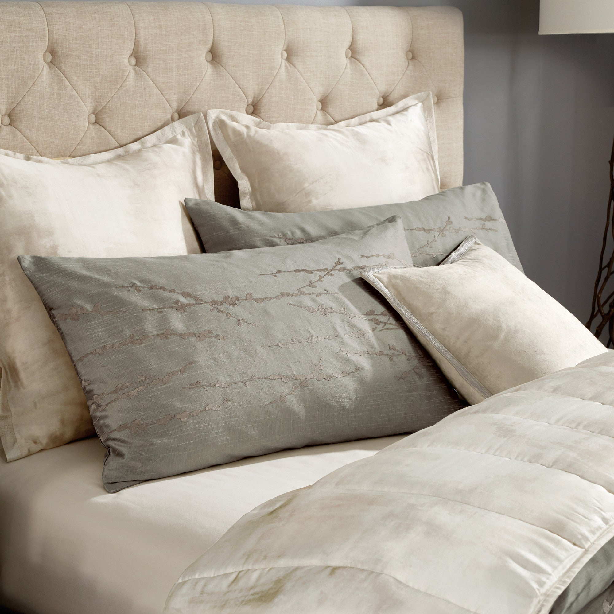 Willow Green Duvet - Michael Aram [Luxury comforter Sets] [by Latest Bedding]