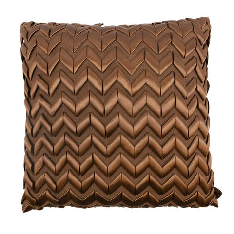 Winchester Dark Ribbon Decorative Pillow [Luxury comforter Sets] [by Latest Bedding]