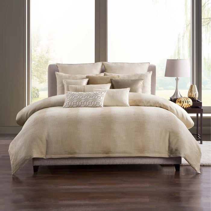 Windham Straw 3-Piece Duvet Cover Set