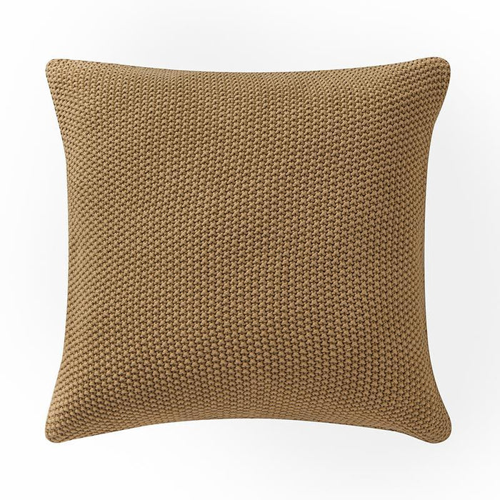 "Windham Straw Knit Pillow 18"" x 18"""