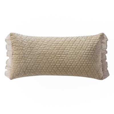 Ansonia Ivory Dec Pillow 22 x 11 Throw Pillows By Waterford