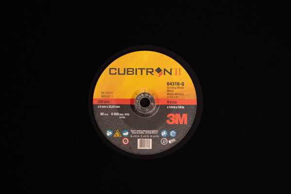 3M™ Cubitron™ II Center Grinding Wheel