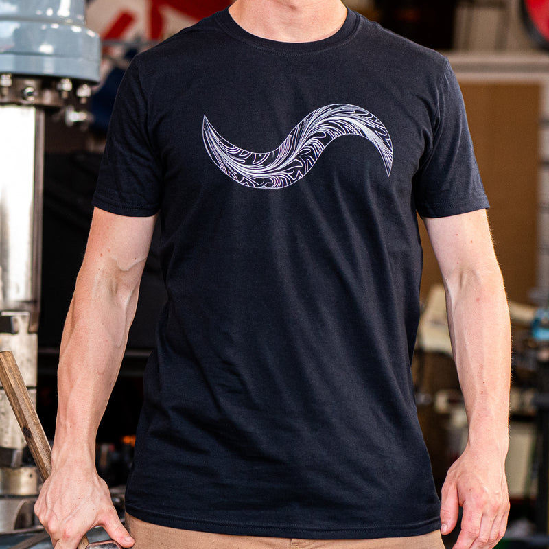 FEATHER DAMASCUS TOUCH-MARK SHIRT!!!