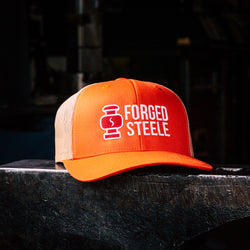 FORGED STEELE MESH TRUCKER HAT!!!