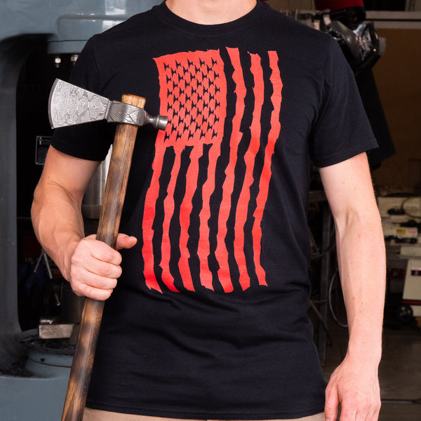 USA ANVIL FLAG TSHIRT!!!