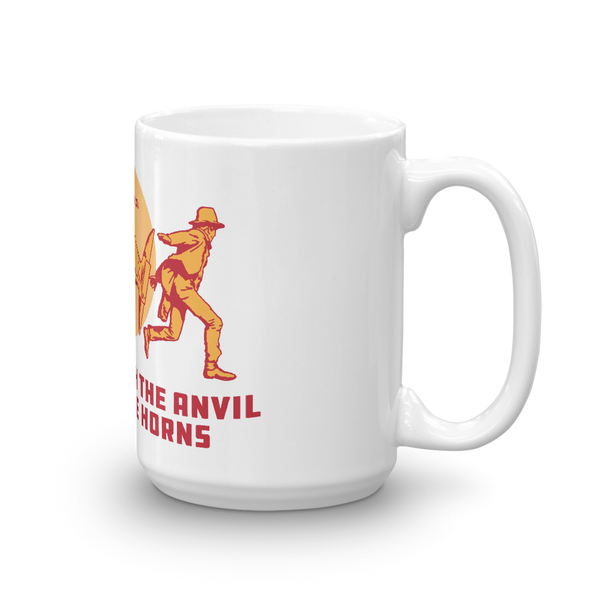 Don't Mess with Anvils Mug