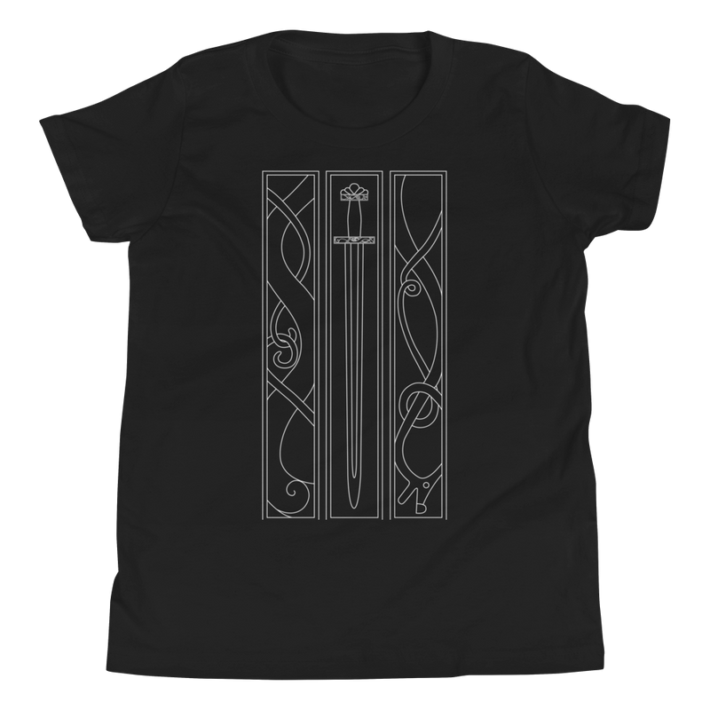 VIKING SWORD T-SHIRT FOR KIDS