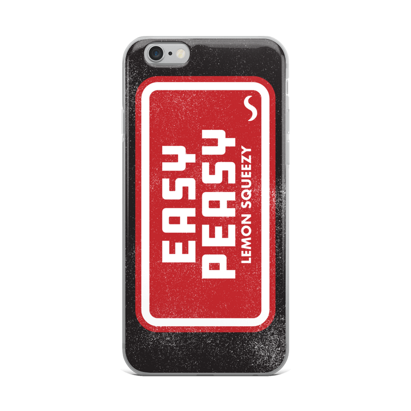 Easy Peasy iPhone Case