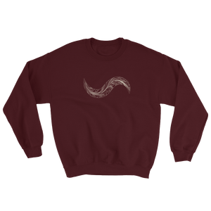 FEATHER DAMASCUS TOUCH-MARK SWEATSHIRT!!!