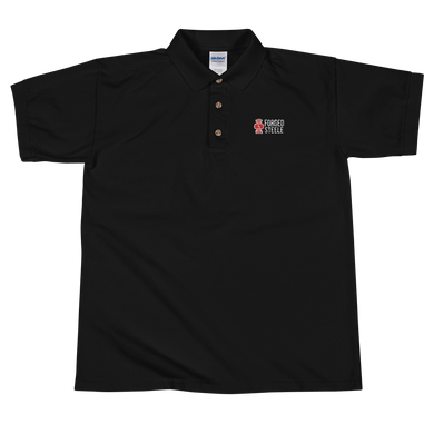 FORGED STEELE POLO! EMBROIDERED!