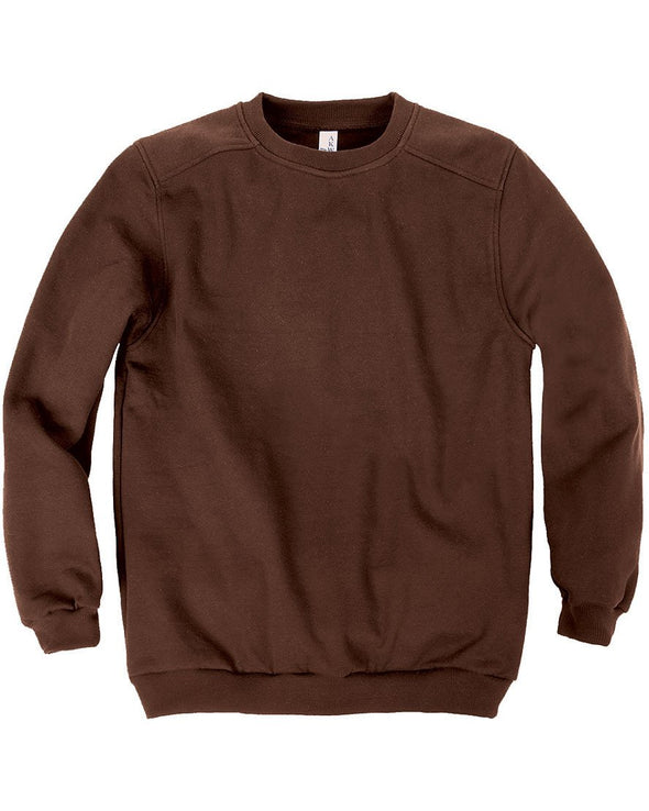 AKWA Men's Pullover Crewneck Sweatshirt american made sweatshirt