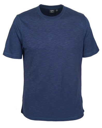 AKWA Men's Slub Pique Tee USA POLO