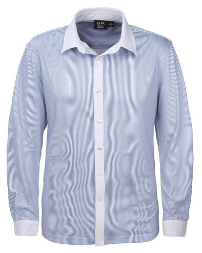 AKWA Men's Knit Sublimated Dress Shirt MADE IN USA