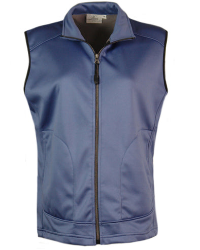 Made in USA Women's Vest Soft Shell Fleece