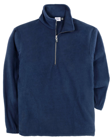 LOVE USA APPAREL Men's 100% Polyester Anti-Pilling Micro Fleece 1/2 Zip Fleece Pullover 802-MFL