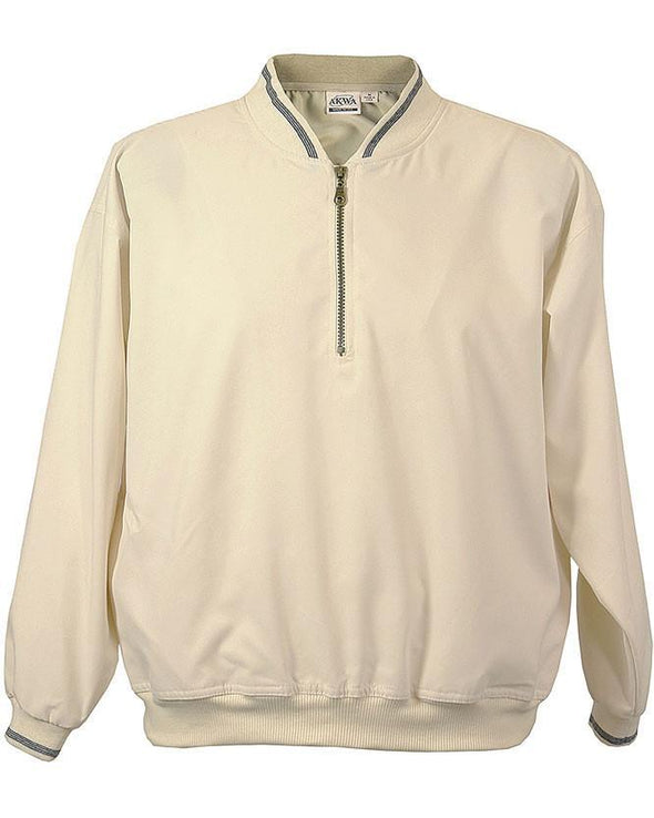 AKWA Microfiber 1/4 zip Windshirt usa clothing