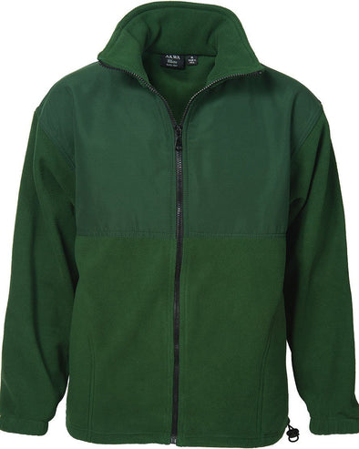 AKWA Mens Micro Fleece Full Zip Jacket made in usa jacket