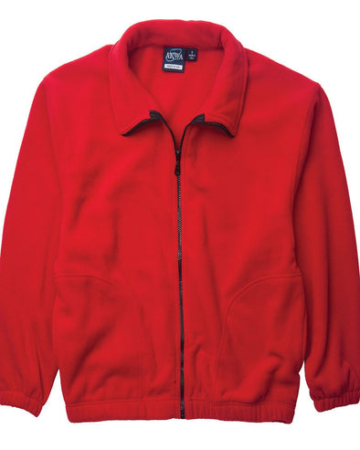 AKWA Men's Full Zip Micro Fleece Jacket made in usa jacket