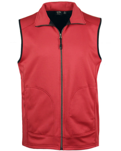 Made in USA Men's Full Zip Soft Shell Vest