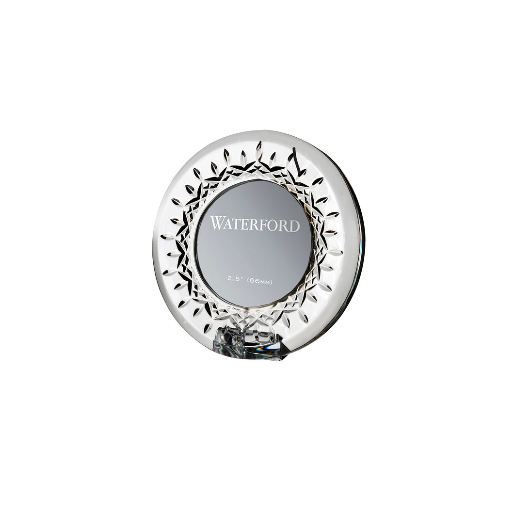 Waterford Crystal Lismore Round Mini Frame