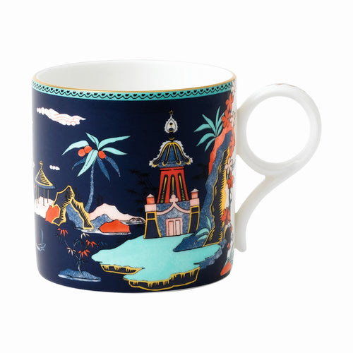 Wedgwood Blue Pagoda Mug Large
