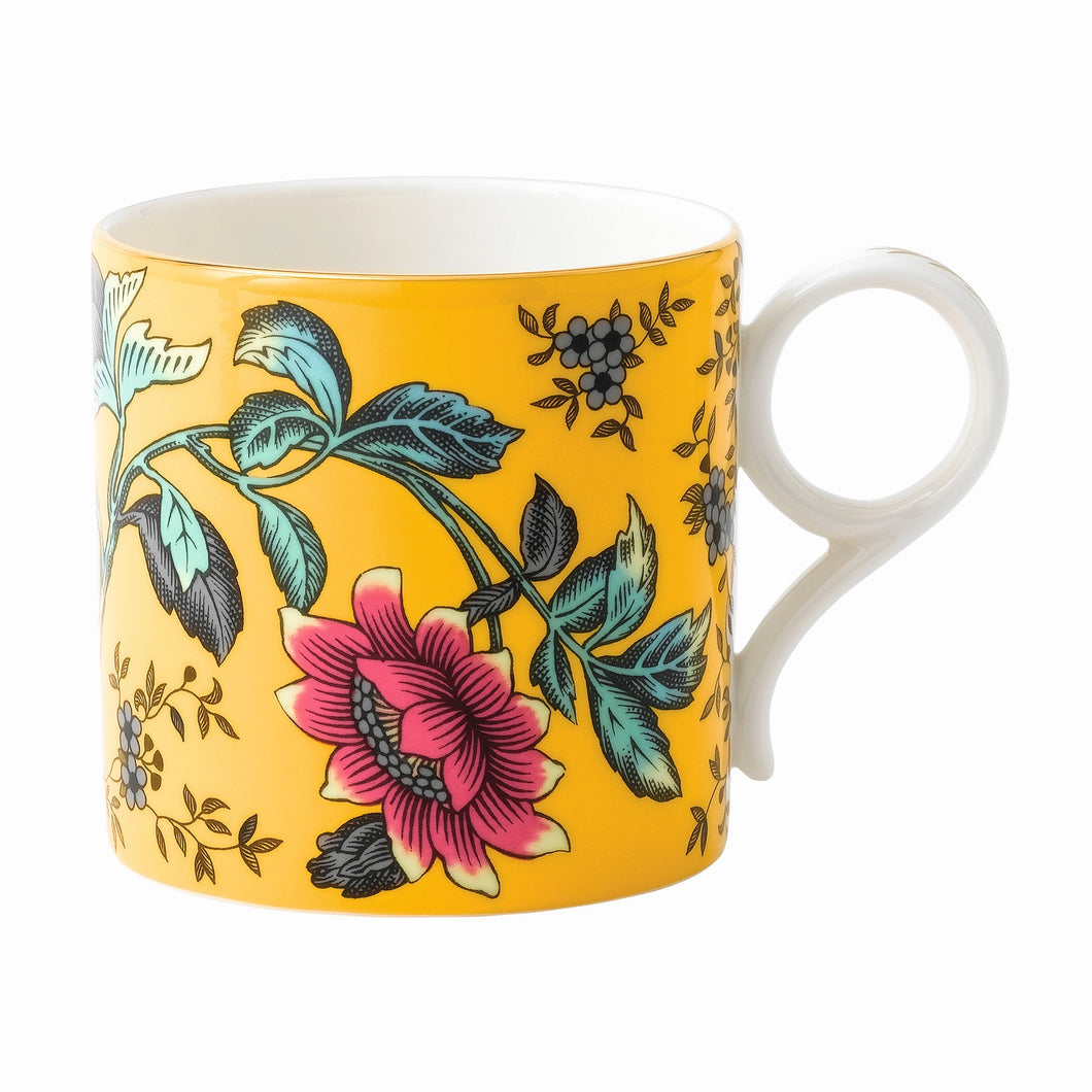 Wedgwood Yellow Tonquin Mug Large