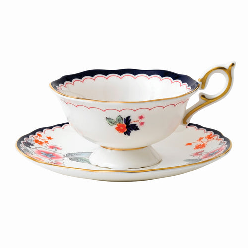 Wedgwood Jasmine Bloom Teacup & Saucer