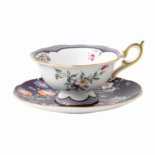 Wedgwood Midnight Garden Teacup & Saucer