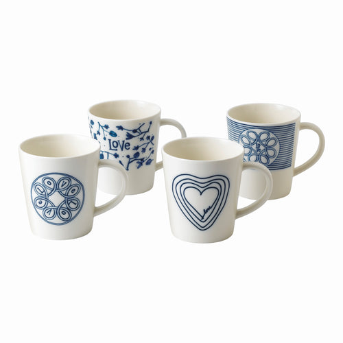 Royal Doulton Love Mug 475ml Set of 4