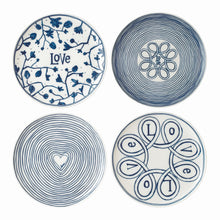 Royal Doulton Love Plate 21cm Set of 4