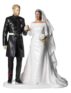 Royal Doulton Prince Harry & Meghan Markle Wedding