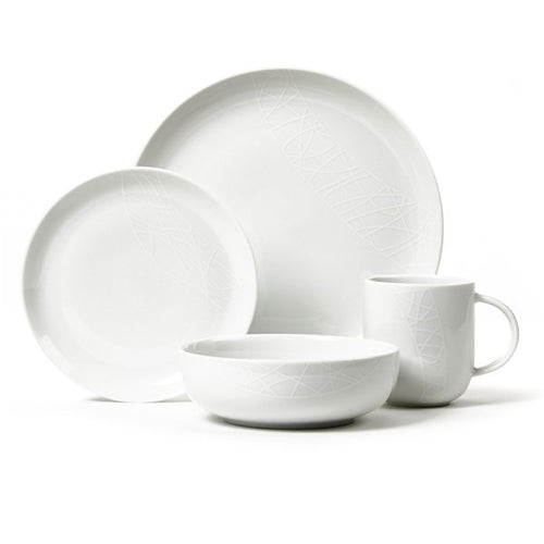 Churchill Jamie Oliver White on White 16 Piece Set