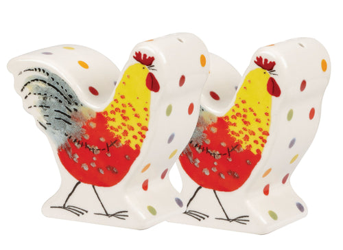 Churchill Alex Clark Rooster Salt and Pepper - LAST FEW AVAILABLE!