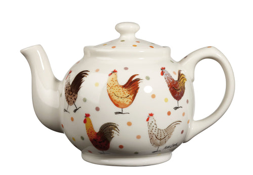 Churchill Alex Clark Rooster Teapot (850ml)