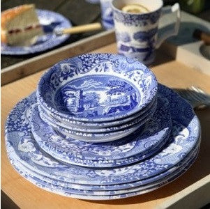 Spode Blue Italian 16 Piece Dinner Set - LAST FEW AVAILABLE!