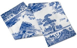 Spode Blue Italian Tea Towel Set of 2