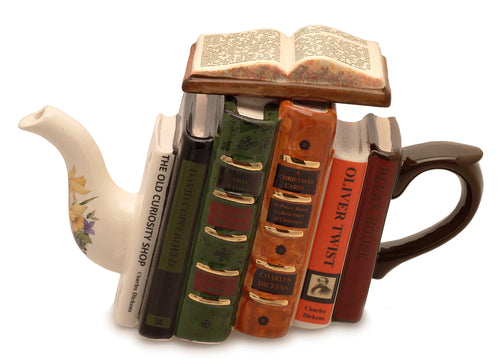 Carters of Suffolk Teapots Books (Dickens) Teapot (1.6Ltr) - LAST FEW AVAILABLE!