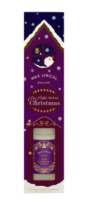 Wax Lyrical Night Before Christmas 100ml Reed Diffuser Gold Frankincense and Myrrh