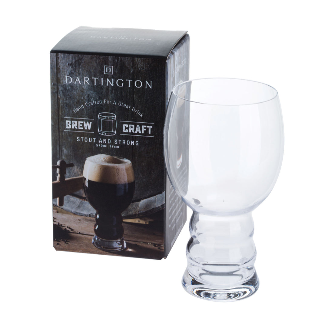 Dartington Glasses Brew Craft Stout and Strong (155mm/55cl)