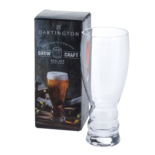 Dartington Glasses Brew Craft Real Ale (205mm/57cl)