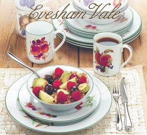 Royal Worcester Evesham Vale TWO X 16pc Set