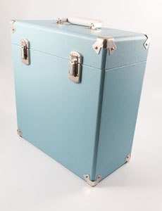 GPO Retro Vinyl Cases Vinyl Case 12inch Blue - LAST FEW AVAILABLE!