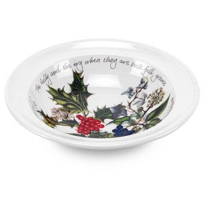 Portmeirion Holly & Ivy Christmas Pudding Bowl Set of 4 (15cm) - SOLD OUT.