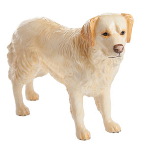 John Beswick Dogs Golden Retriever Light Golden