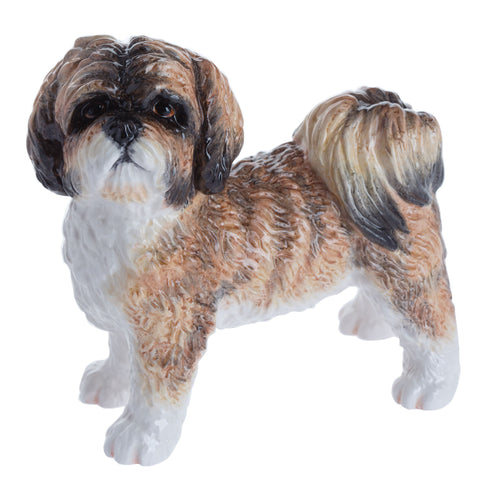 John Beswick Dogs Shih Tzu Brown (10cm)