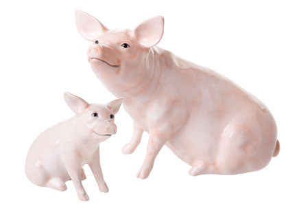 John Beswick Country Classics Pig and Piglet Offer