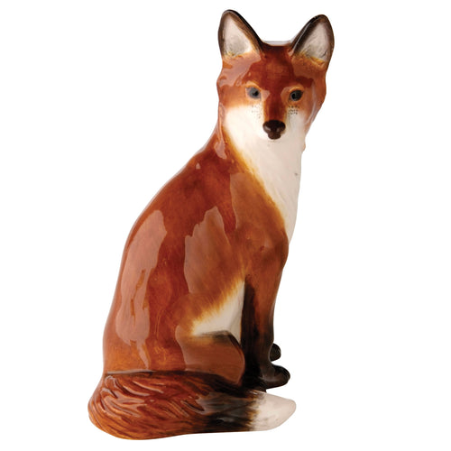 John Beswick Country Classics Fox Sitting (14cm)