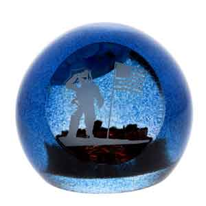 Caithness Glass Man on the Moon