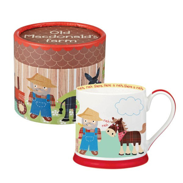 Old MacDonald's Farm Mug in Gift Hatbox - LAST FEW AVAILABLE!